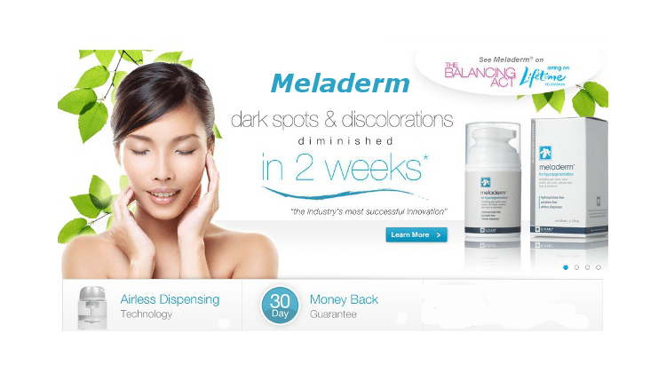 meladerm cream for dark neck