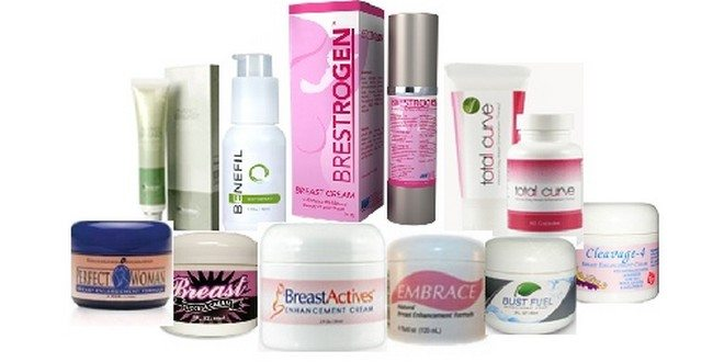 Breast Enhancement Creams