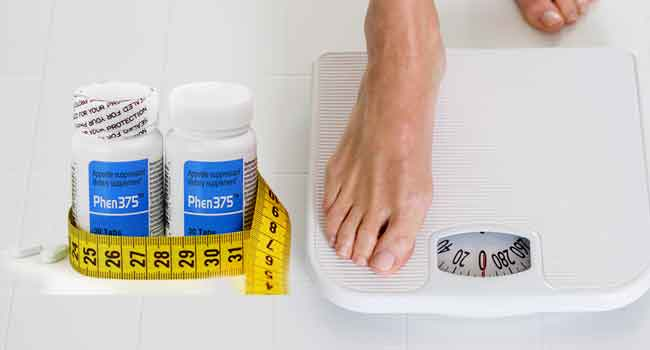 weight loss with phen 375