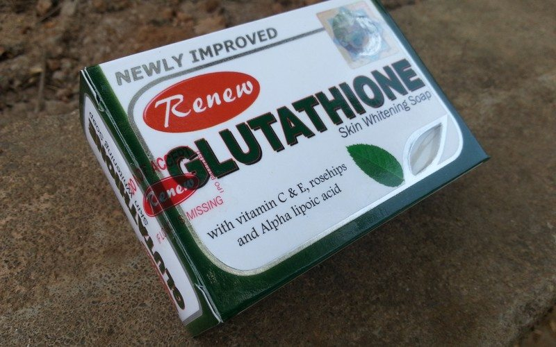 glutathione skin whitening soap review