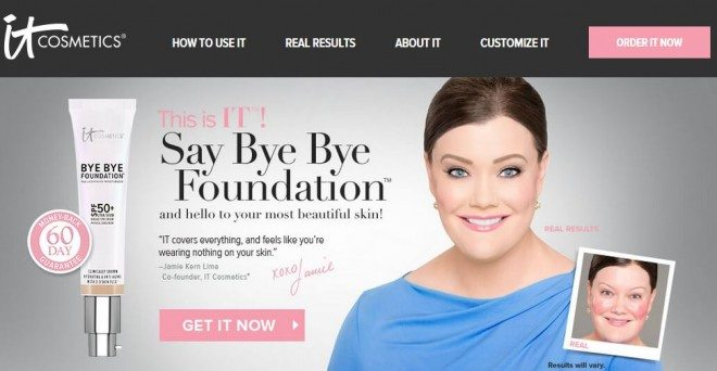 where to buy Bye Bye Foundation