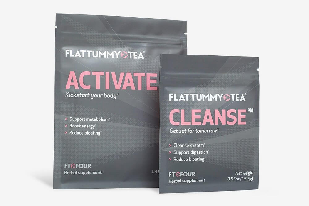 flat tummy tea package