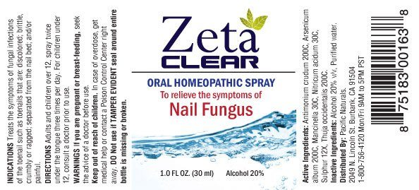 Zetaclear label