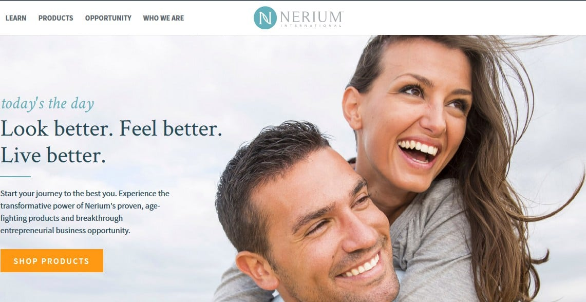 nerium official website