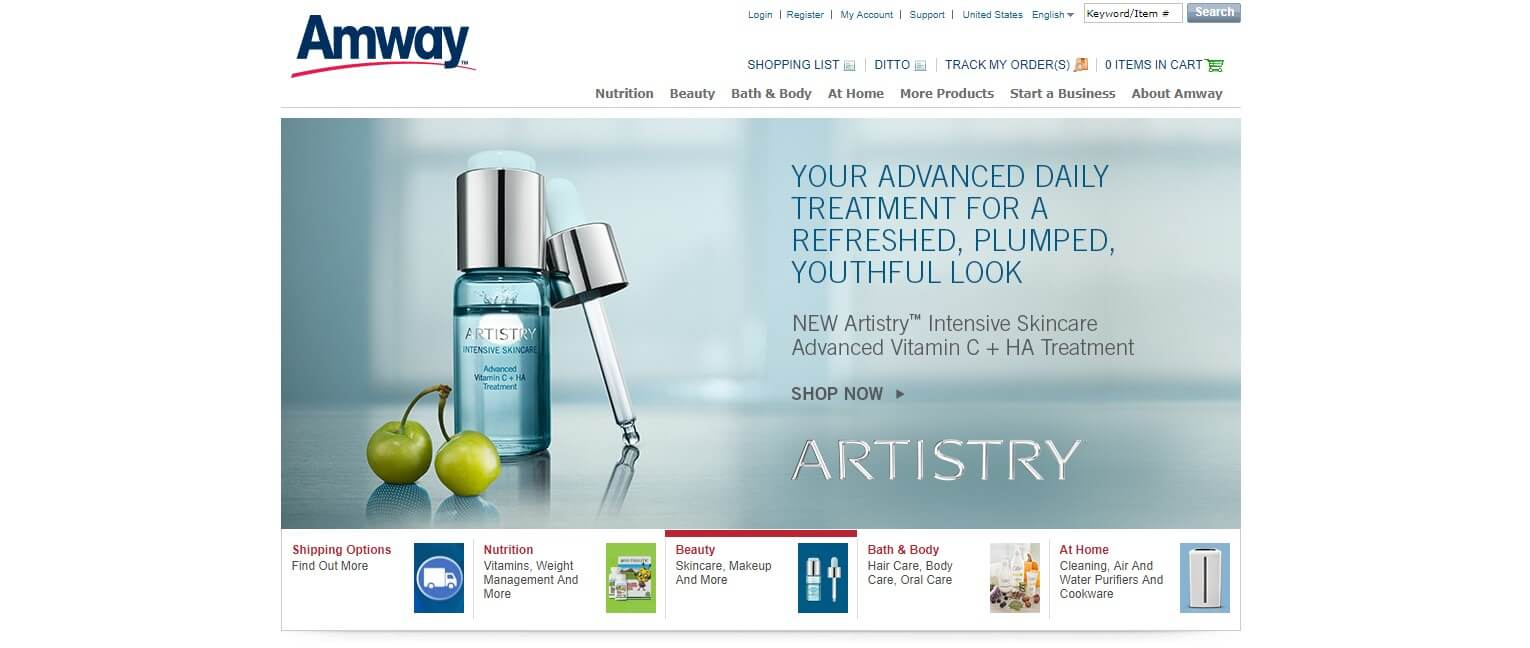 Amway Official Website