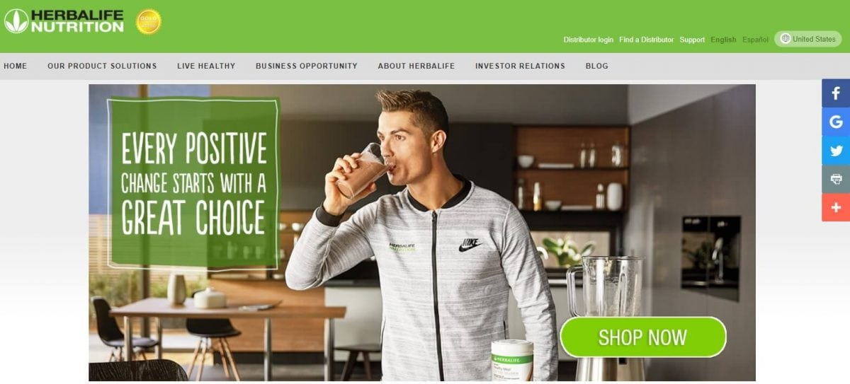 Herbalife Official Website