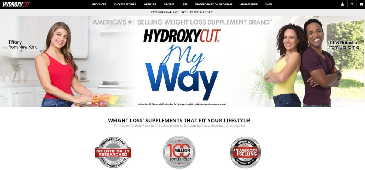 Hydroxycut Official Website