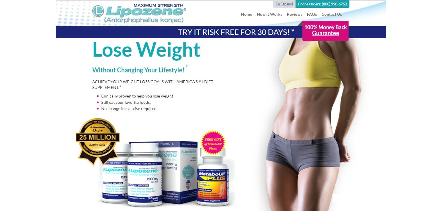 Lipozene Official Website