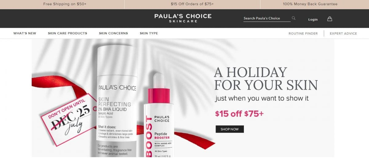 Paula's Choice Official Website