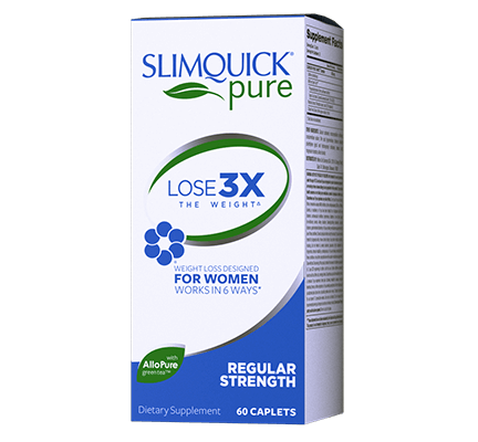 SlimQuick Pure Regular Strength Capsules