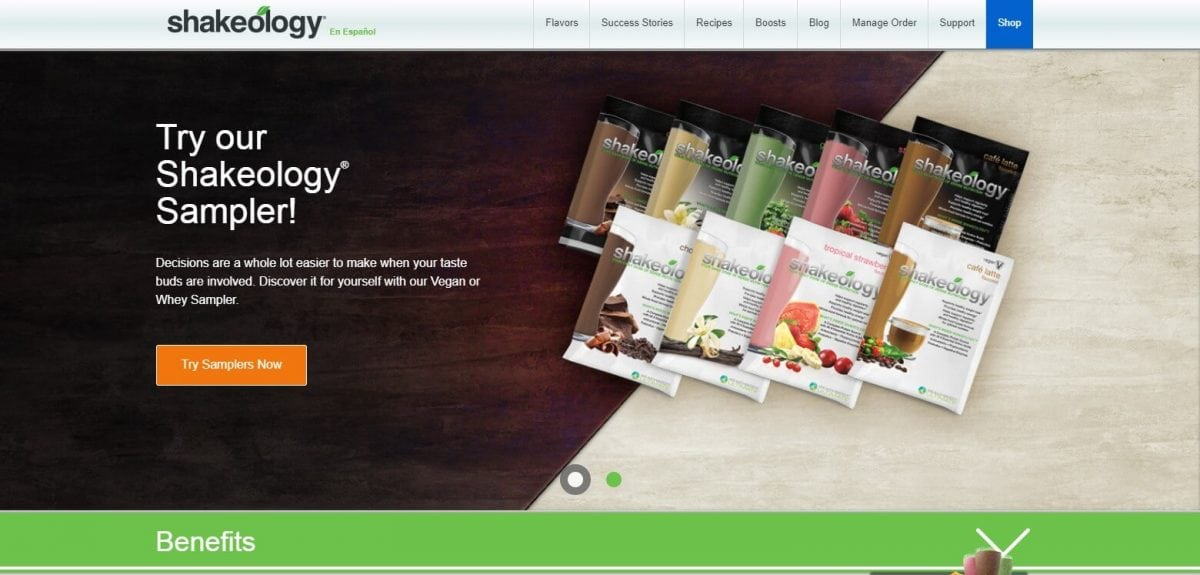 Shakeology Official Website