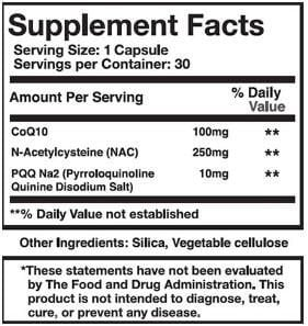 Vitapulse Ingredients