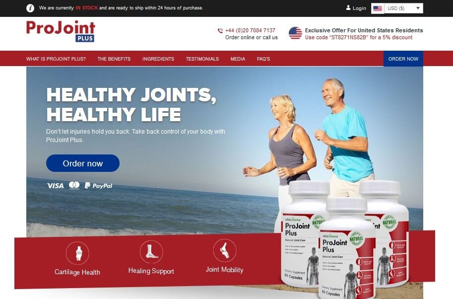 ProJoint Plus official website