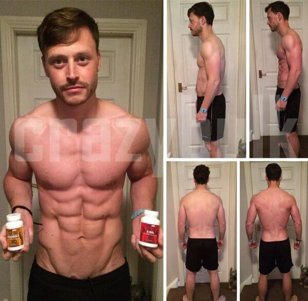 crazy bulk before after picture